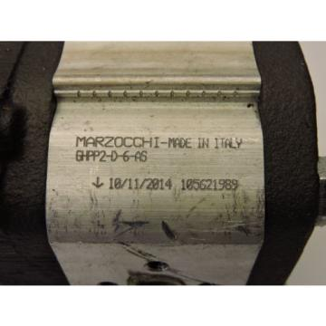Marzocchi GHPP2D-6-AS Hydraulic Pump New