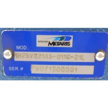 METARIS, HYDRAULIC PUMP, FV071300501, PUMP25VQ21AS-011C-21L