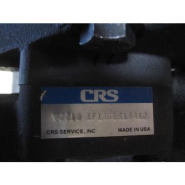 NEW CRS VANE PUMP # V2010-LF13S1S1BS12