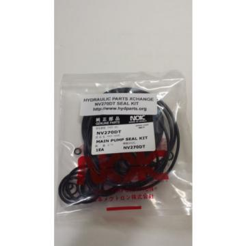 NEW REPLACEMENT SEAL KIT FOR KAWASAKI NV270DT  PUMP FOR HYDRAULIC EXCAVATOR
