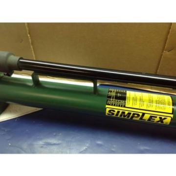 Simplex P41 Hand Pump Single Stage 10,000 PSI
