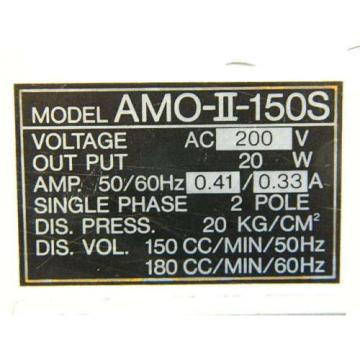 LUBE CORP AMO-II-150S MYLUB-21 LUBRICATION PUMP