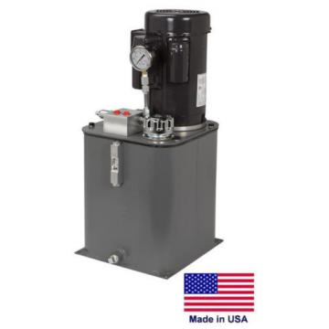 HYDRAULIC POWER SYSTEM Self Contained - 115/230V - 1 Ph - 2 Hp - 5 Gal Reservoir