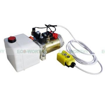 3 Quart 12VDC Double-acting High Quality Hydraulic Pump-Dump Trailer w/ Remote