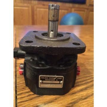 Hydraulic Pump Haldex Barnes 3101