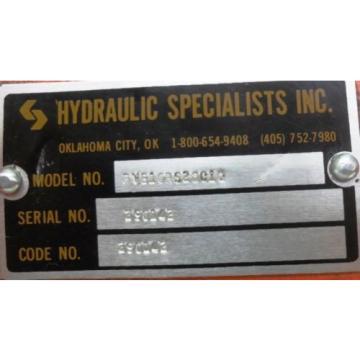 """VICKERS HYDRAULIC SPECIALISTS INC. HYDRAULIC PUMP PVB10RS20C10, 5/8"""" NPT"""
