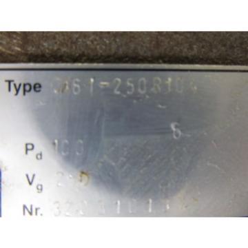 BUCHER HYDRAULICS QX6-1-250R104 HYDRAULIC PUMP NEW OLD STOCK MAKE OFFER