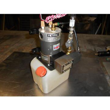 HeyPac KR20-SCV-R5M Hydraulic pump w/control block and transducer