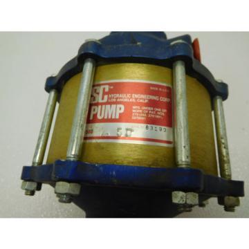 SC Hydraulic Engineering 10-500-1.5 Pneumaic Operated Hydraulic Pump