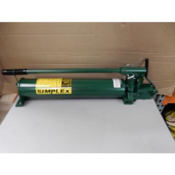 SIMPLEX P140DF HYDRAULIC PUMP FOR DOUBLE ACTING CYLINDERS NEW EQUIV ENERPAC P-84