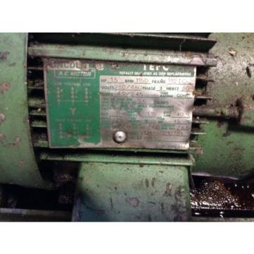 "Hydro System 15hp hydraulic pump w/tank, 30""-14""-20"", 230/460v, 3 phase, vickers"