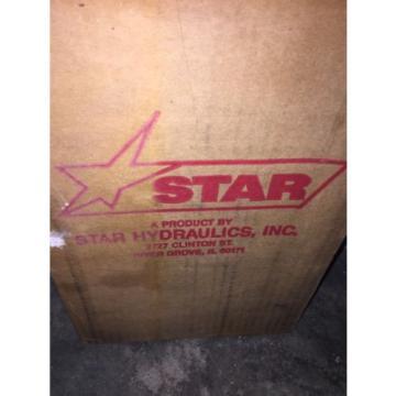"STAR HYDRAULICS P1A-160 HYDRAULIC HAND PUMP 10,000PSI 3/8"" NPT NEW"