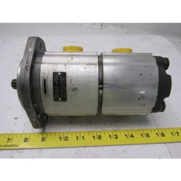 Parker 3349120021 Double Hydraulic Pump