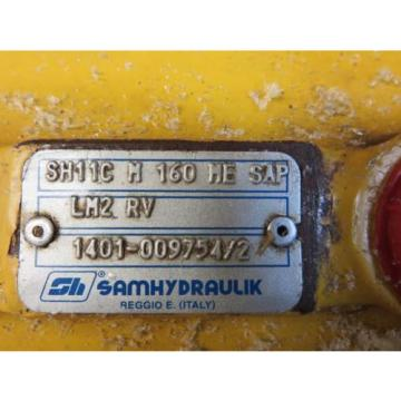 SAMHYDRAULIK SH11C M 160 ME SAP LM2 RV 1401-009754/2 Hydraulic Pump