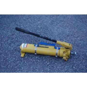 ENERPAC P-80 HYDRAULIC HAND PUMP 10,000PSI MAX W/ FEMALE COUPLER & HANDLE