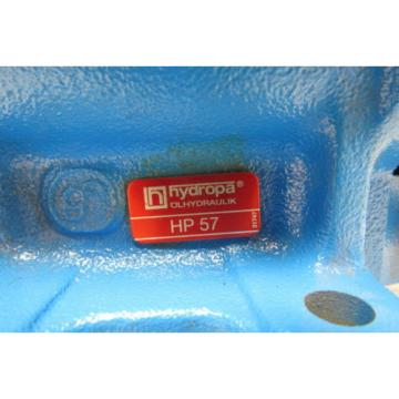 Hydropa HP 57 Positive Displacement Hydraulic Hand Pump