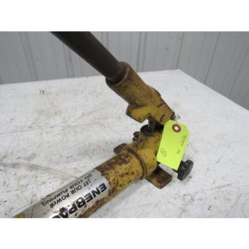 Enerpac P39 Hydraulic Hand Pump! 10,000 psi