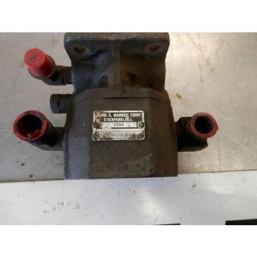 John S. Barnes Hydraulic Pump 3394