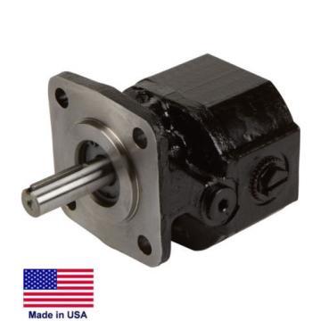 HYDRAULIC GEAR PUMP Belt Driven - 6 GPM - 2,500 PSI -  CW & CCW Rotation  .388