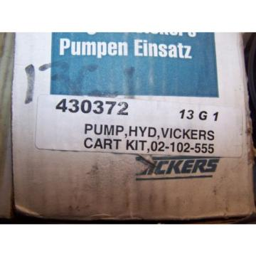 NEW VICKERS HYDRAULIC PUMP CARTRIDGE KIT 02-102-555