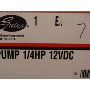 1/4 HP 12 VDC Pump