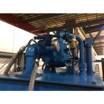 Vickers 15hp hydraulic pump w/tank, 411AK00079A, PSSCA1060P045DX, Eaton System