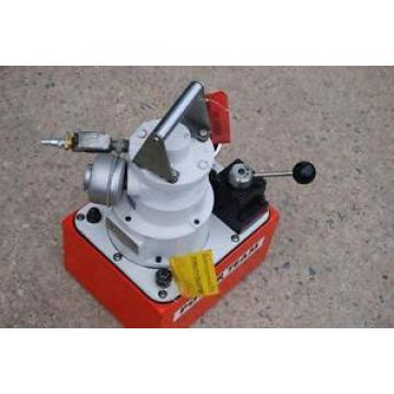 SPX POWER TEAM PA554 AIR DRIVEN HYDRAULIC PUMP W/ 4 WAY VALVE  9500 MINT