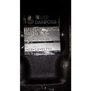 Sauer Danfoss New 90R55 Hydraulic Pump