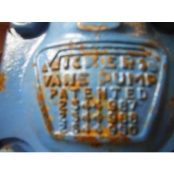 Vicker's Vane Hydraulic Pump New Old Stock NOS for Ford 3400