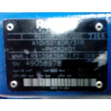 Rexroth Hydraulic Pump A10VS018DR/31R
