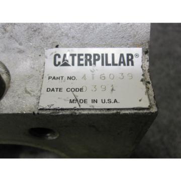 NEW GENUINE CATERPILLAR HYDRAULIC PUMP # 4T6039