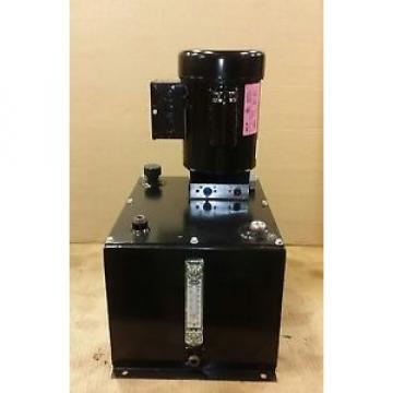 Hydraulic Power Unit - SPX 1 phase electric 1 HP  .40 GPM @ 3000 PSI