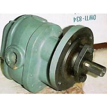 Brown & Sharpe Hydraulic Rotary Gear Pump 713 - 903 - 1