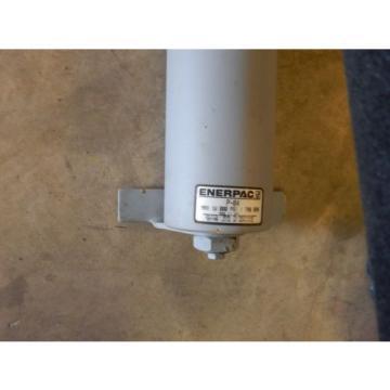ENERPAC P-84 HYDRAULIC HAND PUMP DOUBLE ACTING 4-WAY VALVE & GAUGE 10,000 PSI