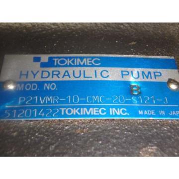 Tokimec HYDRAULIC PUMP_P21VMR-10-CMC-20-S121-J_P21VMR10CMC20S121J
