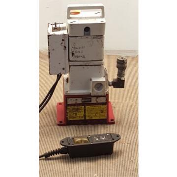 Burndy Epp10 Lightweight Hydraulic Pump, 10, 000 Psi