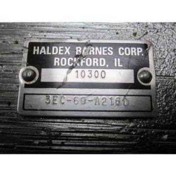 NEW KOMATSU HYDRAULIC PUMP # 3EC-60-A2160 HALDEX BARNES
