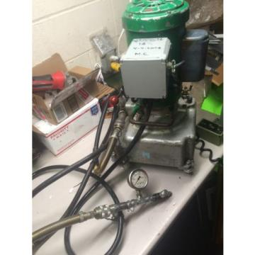 Greenlee 960 Electric/Hydraulic Power Pump PRESSURE TESTED10,000PSI 975 980 3651