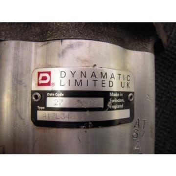 NEW DYNAMATIC LIMITED HYDRAULIC PUMP # A17L34011  #551