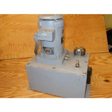 Delta Power Hydraulics Model B4 Hydraulic Pump 3 PH  1.5 HP