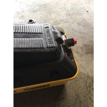 Enerpac PATG1102N air hydraulic foot pump.
