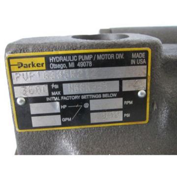 Parker PVP16305R212 Hydraulic Piston Pump 3000 PSI