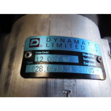 NEW DYNAMATIC LIMITED HYDRAULIC PUMP # C28.0/18.5L 37785