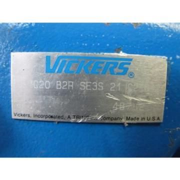 VICKERS PVQ20 B2R SE3S 21 C21D12 HYDRAULIC PUMP REBUILT