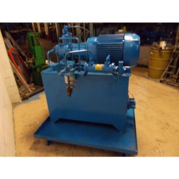 Continental PVR50-70B-RF-0-52H7-L Hydraulic Power Unit 70GPM 40HP