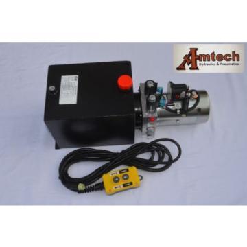 4210S Dump Trailer Hydraulic Power Unit,12V Double Acting,10L Metal Tank, OEM