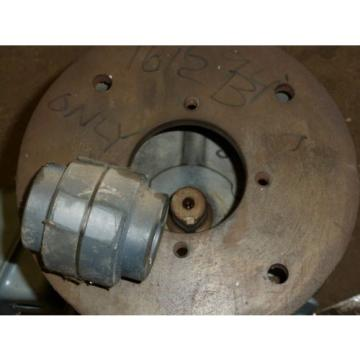 NOS Delco Electric Motor w/Hydraulic Pump Adapter flange 3HP 3 Phase 1175 RPM