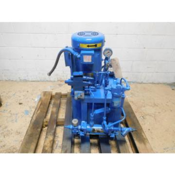 Parker PVP16 5HP  Hydraulic Power Unit 5GPM