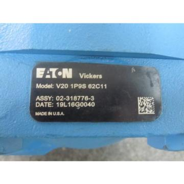 NEW EATON VICKERS VANE PUMP V20-1P9S-62C11 POWER STEERING PUMP 02-318776-3
