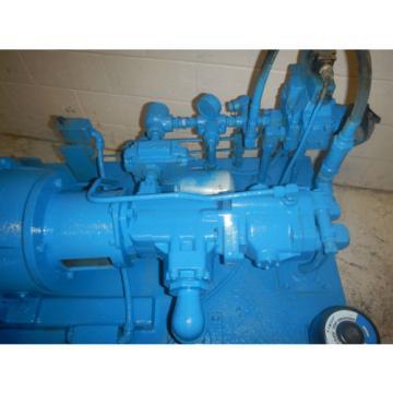 Vickers 25HP 19/10 Gallons Hi/lo hydraulic pump system PVQ20RDRSE3521/25VTB14A